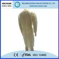 Buy cheap Yellow Disposable Isolation Gown product