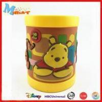 Buy cheap 3d cartoon most popular teddy bear colorful plastic mug product