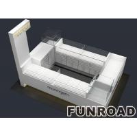 Buy cheap Funroad wooden and glass jewelry showcase display product
