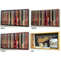 "Buy cheap Mini 18"" Baseball Bat Display Case Cabinet w/ UV Protection4 WOOD COLORS! product"