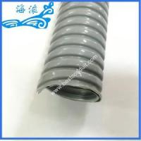 Buy cheap 51mm Grey PVC Coated Flexible Conduit product