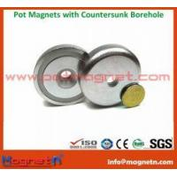 Buy cheap NdFeB Pot Magnet with 90  Countersunk product