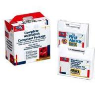 Buy cheap 50 PERSON ANSI AND OSHA COMPLIANCE PACKAGE / CPR FACE-SHIELD, LA[228-CP] product