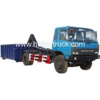 Buy cheap DongFeng Cummins Engine Hook Lift Garbage Truck product