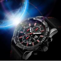 Buy cheap Fashion Leather Stainless Steel Analog Quartz Watch product