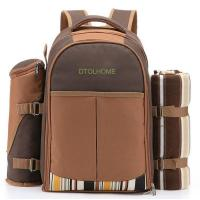 Buy cheap Picnic Backpack Bag for 4 Person With Cooler Compartment product
