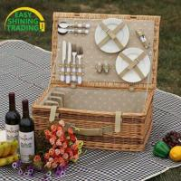 Buy cheap 4 person picnic basket ESPB009 product