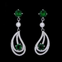 Buy cheap Wholesale Fashion Daily Wear Jewelry Latest Model Rhinestone Stud Earrings For Ladies product