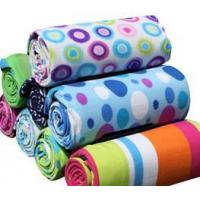 Buy cheap fleece picnic blankets with PEVA back product