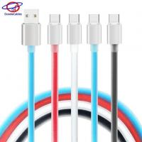 Buy cheap High Light Aluminium Alloy Shell Type C Cell Phone Cables with TPE Jelly Line product