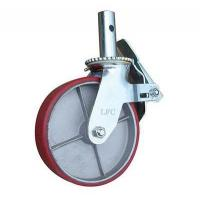 Buy cheap LFC S1-VUF IRON SCAFFOLDING TOWER WHEELS - SOLID STEM CASTERS from wholesalers