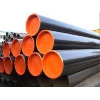 Buy cheap TSX-GP 13655 ERW welded Q235 galvanized Carbon steel pipe For Building Material product
