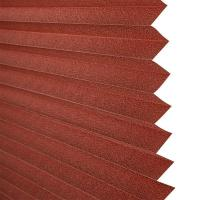Brown white green color optional Pleated blinds