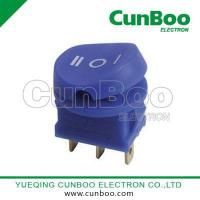 Buy cheap KCD2 Rocker switch KCD2-109 blue color on-off-on rocker switch product