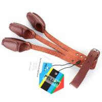 Buy cheap Hunting Pellor Handmade 3 Finger Protect Glove Archery Pull Bow arrow Leather Glove product