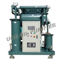 Buy cheap ZY series Single Stage Vacuum Insulation Oil Purifier product
