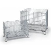Buy cheap Wire Container with High Bearing Capacity, Anti-Corrosion, Anti-Theft product