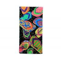 slippers printed beach towel