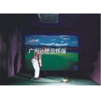 Buy cheap Sand cylinder Indoor golf simulator product