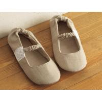 Linen Lace Slippers