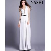 Buy cheap European High Quality V-Neck Sexy Wide Leg Jumpsuit product