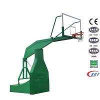 Good electric hydraulic basketball stand set folding basketball hoop for sale
