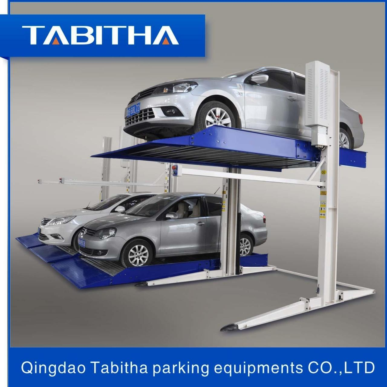 Buy cheap Puzzle parking System TTPP606 Safe Two Post Auto-parking Lift Luxury product