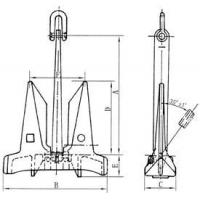 Buy cheap AC 14 STOCKLESS ANCHOR product