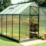 LGH-1805 8 6 Green Frame Polycarbonate Greenhouses
