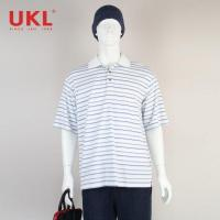 Buy cheap Wholesale Customized Stripe Design Polo Shirt for Man product