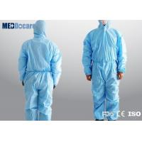 Disposable blue work overalls elasticated waist comfortable and odorless