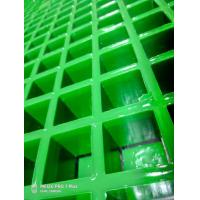 Different Angle On FRP Grating In Green Color With Competitive Price